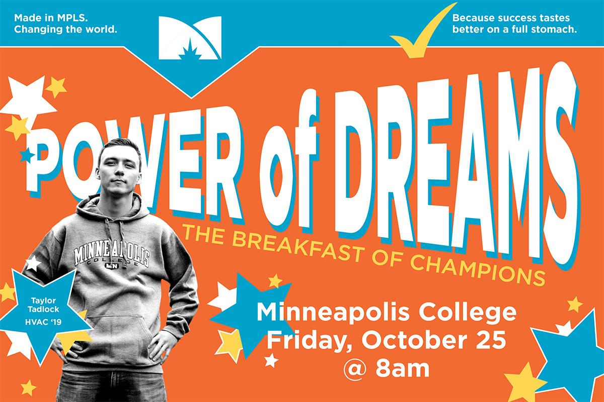 Power of Dreams Breakfast at Minneapolis College