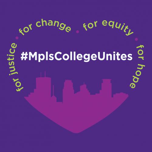MplsCollege Unites logo