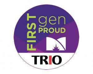 First-Generation Proud TRIO logo